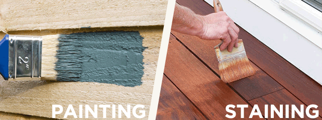 Painting Vs Staining Why To Stain