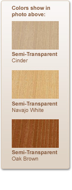 Cabot Wood Stain Colors