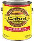 Cabot Stains Semi-Solid Siding and Fence