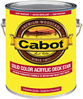 Cabot Stains Solid Color Decking Stain