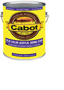 Cabot Stain's Solid Color Acrylic Siding Stain