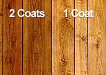 Staining Subcoats