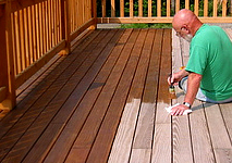 How To A Stain Deck Staining Your