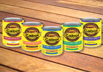 Staining: Cabot choice