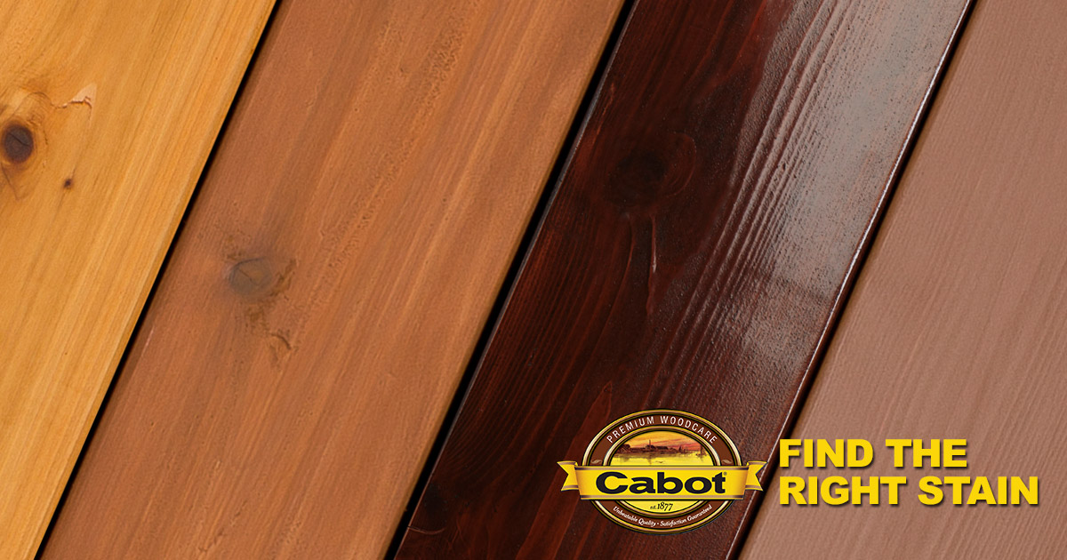 Wood Projects Stain Products Interior Exterior Project Wizard Cabot