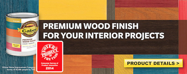 Premium Wood Finish - Stain + Sealer