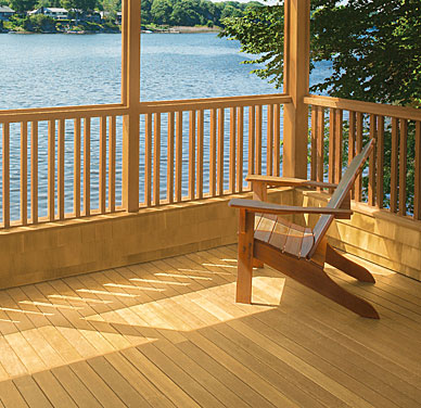 Valspar Semi Transparent Wood Stain